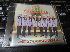 El Carpintero by Banda Sierra de Durango (CD 2003, Fonovisa) NEW Latin