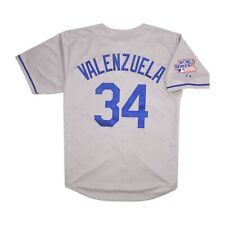 Fernando Valenzuela Los Angeles Dodgers 1981 World Series Road Jersey Men's XL