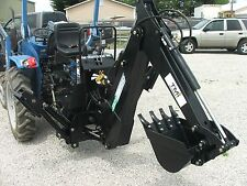 3 point Backhoe 8600, 9-foot excavator with free Pto Pump & shipping