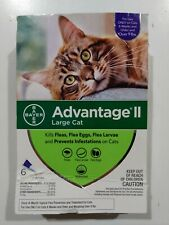 Bayer Advantage Ii Flea Prevention for Large Cats over 9 lbs, 6 doses - New