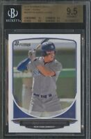 BGS 9.5 AARON JUDGE 2013 BOWMAN DRAFT PICKS ROOKIE RC TRUE GEM MINT QUANTITY AVL