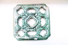Old Hand Made Fine Glazed Pottery Ceramic Porcelain Jali Wall Window NH4841