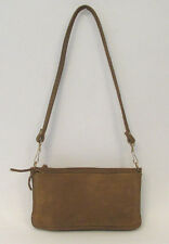 VINTAGE 1960s BOHO HIPPIE THEODORE OF CALIFORNIA LEATHER CLUTCH SHOULDER HANDBAG