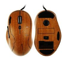 Skinomi Light Wood Cover Full Body Gaming Mouse Skin Protector for Logitech G500