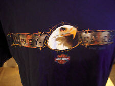 Harley Davidson T-Shirt  Exc. Cond. Size Large Mantua , Oh.