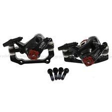 AVID BB7 MTB Disc Bike Brakes set Mechanical Front & Rear Calipers Black