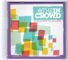 (GZ399) We Are The In Crowd, Guaranteed To Disagree - 2010 CD