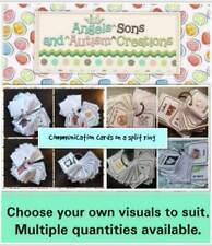 L'autisme choisir votre propre visuel cartes pour s'adapter sur un anneau fendu ~ Visual Learner