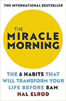 The Miracle Morning by Hal Elrod NEW