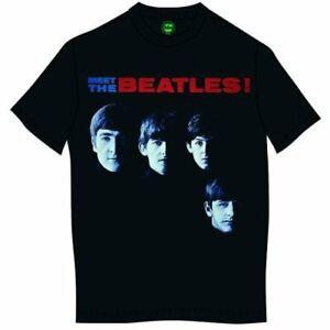 The Beatles Meet The Beatles Official Merchandise T-Shirt M/L/XL - Neu