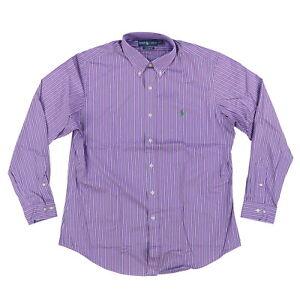 Polo Ralph Lauren Mens Buttondown Shirt Custom Fit Long Sleeve Collar Top 16 1/2