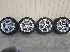 AJR Racing style 17 x 8 + tyres to suit Falcon XR - EL & Chrysler 5/114.3