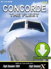 Concorde Add-On - Microsoft Flight Simulator FSX FS2004 - sim - Digital Download