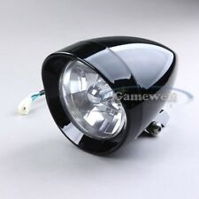 Gloss Black Custom Headlight for Harley Choppers