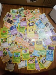 Mixed Lot Of 50 Plus Pokemon Cards Early 2000's