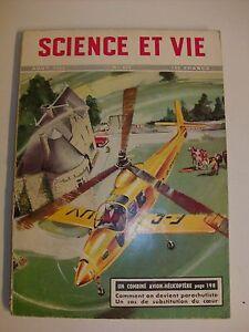 SCIENCE ET VIE 431 08/53 avion hélicoptère parachutisme vermiculite