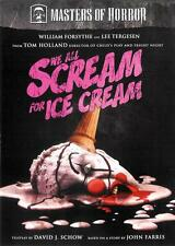 We All Scream For Ice Cream ~ William Forsythe Lee Tergesen ~ DVD FREE Shipping