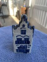 Made in Holland Lini Ornamental Apothecary Jar Ol Authentic Delft Antique Reproduction Heirloom Heritage Quality