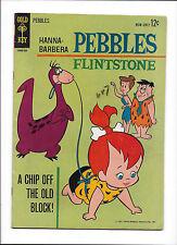 PEBBLES FLINTSTONE #1  [1963 VG]  EARLY PEBBLES APP!