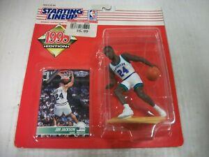 JIM JACKSON (1995) Dallas Mavericks, Starting Lineup, NBA