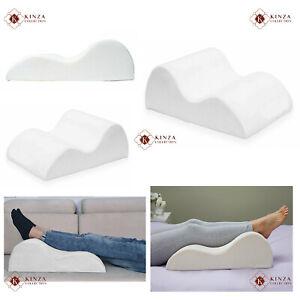 New Contour High Density Memory Foam Leg Foot Rest Raiser Support Pillow Cushion