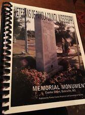 Veterans Of Panola County Mississippi, Memorial Monument Batesville MS