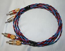 Kimber Kable PBJ 1 Meter Interconnect RCA to RCA 3.6' feet very nice wires
