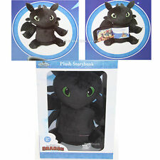 Zoobies Book Buddies How To Train Your Dragon Toothless Plush & Soft Story Book