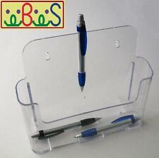 6x A4 Size Clear Acrylic Single-Pocket Brochure Holders BHSA4