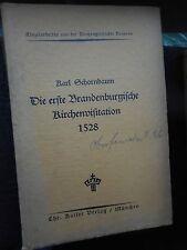 Antiquarische Bücher mit Orts- & Landeskunde aus Brandenburg als Erstausgabe