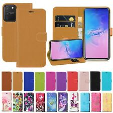For Samsung Galaxy S10 Lite (2020) Note 10 Lite PU Leather Wallet Case Cover