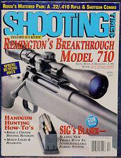 Magazine SHOOTING TIMES April 2001 REMINGTON Model 710 .30-06 Bolt-Action RIFLE
