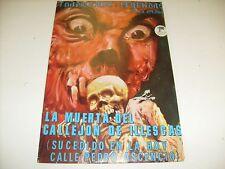 LA MUERTA dEL CALLEJON de ILLESCAS - Vintage graphic Comic  Book  / A4