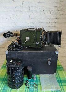 "Kinap Konvas ""1"" 35mm Hand Cranked USSR Movie Camera 1940"