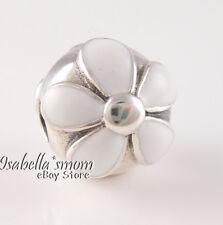 Retired DARLING DAISIES Authentic PANDORA White Enamel FLOWER Clip 791259EN12