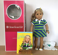 AMERICAN GIRL Lanie Pleasant Company Doll Box & Book Retired