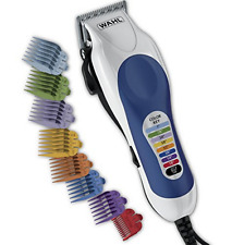 Hair Cutting Kit 20 Set Clipper Wahl Color Pro Electric Cutter Barber New