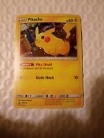 Pokemon Card Pikachu SM157 Promo Holo LP