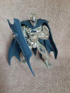 Deluxe Silver Knight The Legends Of Batman Metallic Armor 1994 Hasbro Toy Shield