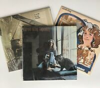 Carole King 3 Titles Vinyl LP Record Albums Tapestry Music Fantasy A&M VG+ Cond