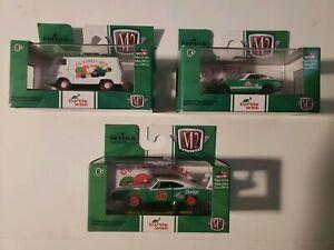 M2 Machines(Turtle Wax) LOT of 3 Walmart Exclusive Fairlady Charger Econo Van