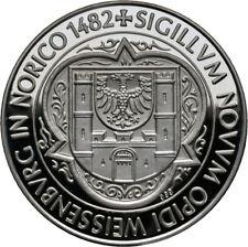 Medaille Schützen-Gau Weissenburg Silber PP (9093)