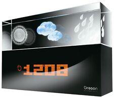 Oregon BA 900 Crystal Wetterstation Innen-Temperatur Vorhersage Glas-Gravur