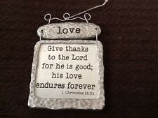 Love, Give Thanks To The Lord Sign