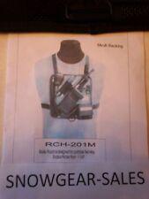 Hands Free, MESH,  Radio Chest Harness W/ Battery pocket  201-M