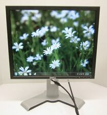 """Dell 19"""" LCD Monitor Display 1908FPc 4:3 1280x1024 VGA DVI-D Tested + Cables"""