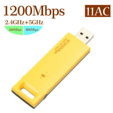 AC 1200 Mbps USB3.0 doble banda red inalámbrica WIFI Adapter 2.4GHz/5.0GHz 802.11