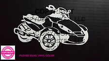 CAN-AM SPYDER  RS - WINDOW DECAL / STICKER  - 13 colors