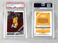 Lebron James 2019-20 Panini Donruss Optic #60 PSA 9 Mint Los Angeles Lakers