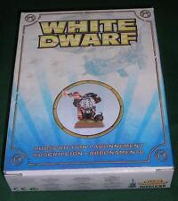 Fuera de imprenta Edición Limitada Blanco Enano Warhammer Aviador enano modelo de suscripción 2011